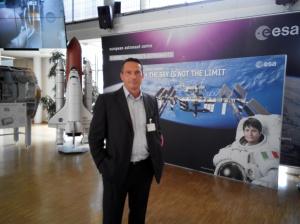 dr. Daniele Trevisani at ESA Astronauts Training Center