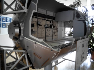 International Space Station - section, model