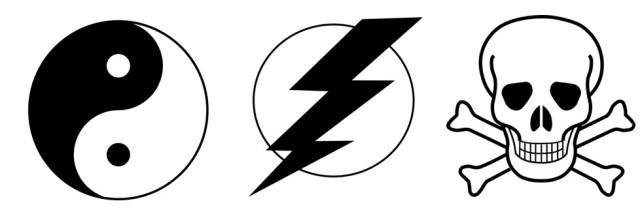 tao flash skull symbols