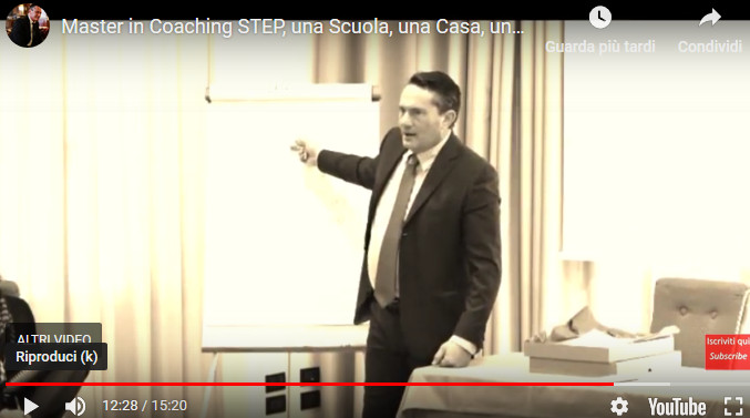 Coaching Corsi master in coaching step