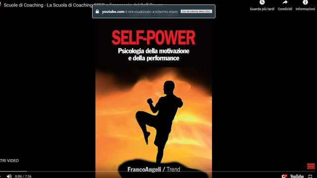 scuole di coaching - scuola di coaching step e self power