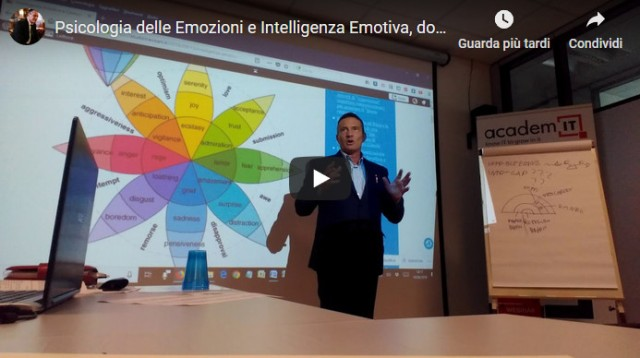 daniele trevisani lezione intelligenza emotiva coaching